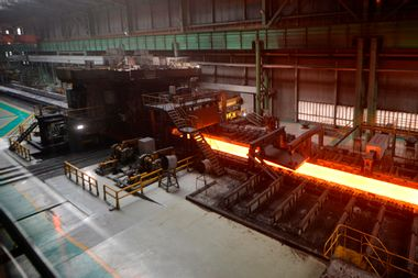 Chinese Steel Mill