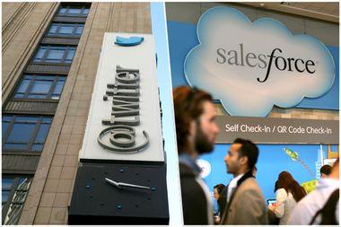 Twitter; Salesforce.com