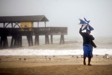 APTOPIX Hurricane Matthew Georgia