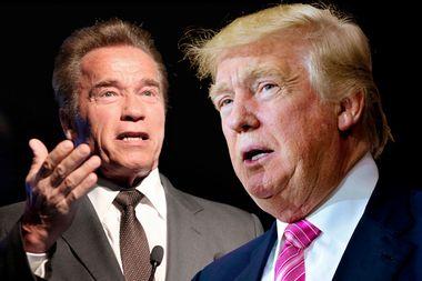 Arnold Schwarzenegger; Donald Trump