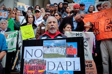 DAPL Protest