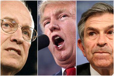 Dick Cheney; Donald Trump; Paul Wolfowitz