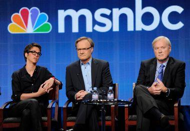 Rachel Maddow, Lawrence O'Donnell, Chris Matthews