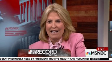 Image for Greta Van Susteren is out at MSNBC after six short months