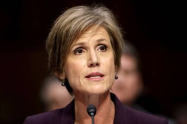Why Sally Yates' warnings about Michael Flynn just took on new significance