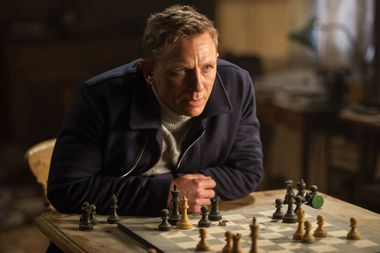 "Daniel Craig as James Bond in ""Spectre"""