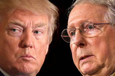 The great GOP crack up: Mitch McConnell is still scrambling to lead Donald Trump's Republican Party