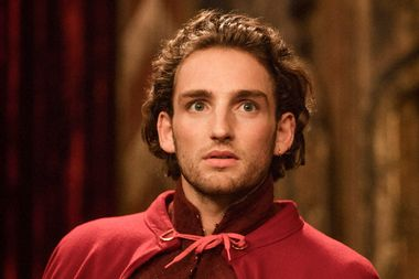 """Laurie Davidson as William Shakespeare in """"Will"""""""