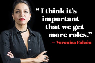 Image for Veronica Falcón on moving from Mexico to LA at 50 to pursue acting: