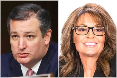 Ted Cruz; Sarah Palin