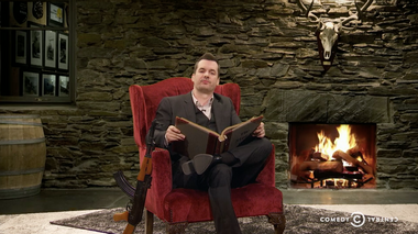 Image for Jim Jefferies gives us the real story of Thanksgiving