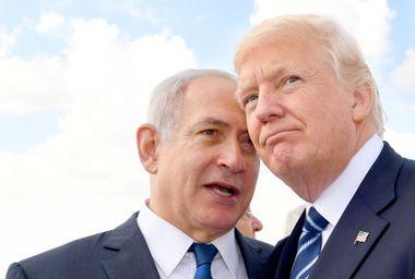 Israeli Prime Minister Benjamin Netanyahu; Donald Trump