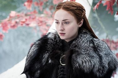 """Sophie Turner reacts to backlash over telling """"Game of Thrones"""" ending to friends"""