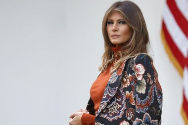 First lady jets to resort on military aircraft as Trump administration blocks congressional access