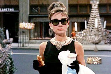 "Audrey Hepburn in ""Breakfast at Tiffany's"""