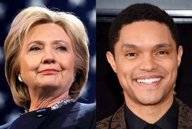 Hillary Clinton; Trevor Noah