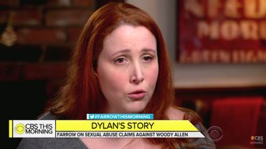 """Dylan Farrow on """"CBS This Morning"""""""