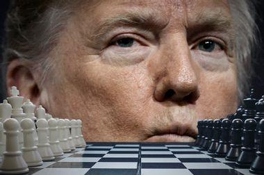 Donald Trump; Chess Board