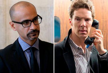 """Junot Diaz; Benedict Cumberbatch as Patrick Melrose in """"Patrick Melrose"""""""