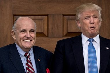 """Giuliani says Trump will only do in-person Mueller interview """"over my dead body"""""""