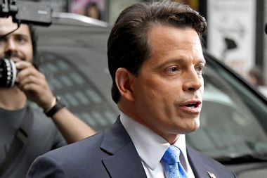 "Scaramucci disinvited from Florida Republican fundraiser for calling Trump's tweets ""racist"""