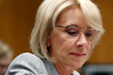 Betsy DeVos used her private email account for government work, internal probe finds