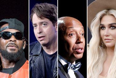 R. Kelly; Charlie Walk; Russel Simmons; Kesha