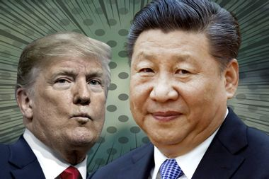 """Trump says he's having """"second thoughts"""" about trade war with China, then takes it back"""