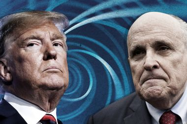 Trump world sours on Rudy: Giuliani's status with Trump now uncertain