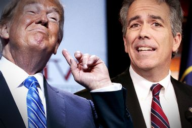 Former Rep. Joe Walsh has announced that he's challenging Donald Trump in the 2020 primaries