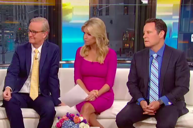 """""""Fox & Friends"""" segment suggests that each Trump voter should give $80 to fund the president's wall"""