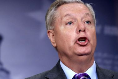 Does Lindsey Graham have a conflict of interest in his role as the Senate Judiciary Committee chair?