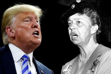 Donald Trump; Eleanor Roosevelt