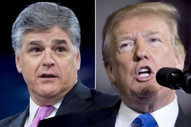 Fox News host Sean Hannity dictated Trump's national emergency plan. Is his influence near-absolute?
