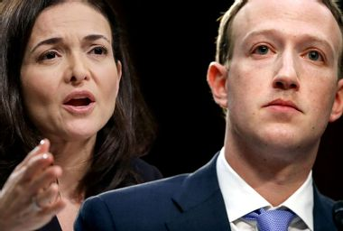 Sheryl Sandberg; Mark Zuckerberg