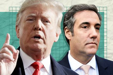 """Did President Donald Trump instruct his """"fixer"""" Michael Cohen to lie to Congress about Russia?"""