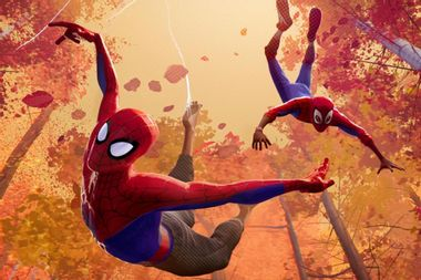 """""""Spider-Man: Into the Spider-Verse"""" is a beautiful, bold, overstuffed melodrama"""