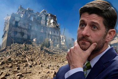 Paul Ryan's disgraceful last act: Providing cover for Trump on Yemen war