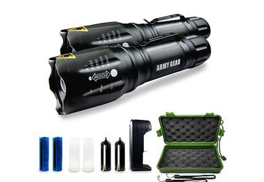 Save over 75% on these tactical flashlights