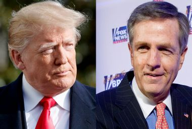 """Fox News' Brit Hume compares Donald Trump to a guy who """"couldn't get a prom date"""""""