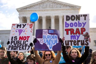 #StopTheBans: Thousands organize to protest wave of new state laws banning legal access to abortion