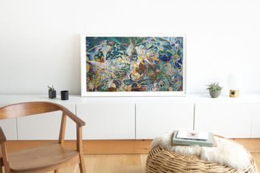 Upgrade your home with a museum-quality digital canvas