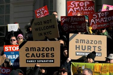 Activist defeat of Amazon is a win for democracy over technocracy