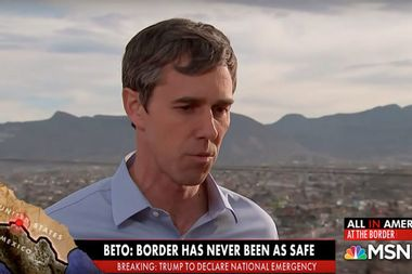 """Beto O'Rourke counters Trump's hardline stance on border: """"Absolutely, I'd take the wall down"""""""