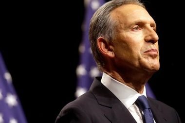 Is Howard Schultz an enemy of democracy? He wants to detonate the grenade in the Constitution