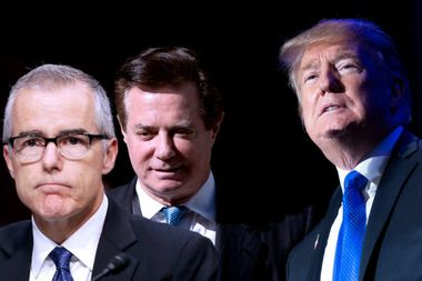 Andrew McCabe, Paul Manafort and Mueller's theory: A criminal conspiracy implicating the president?