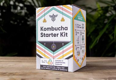 Keep your gut healthy with this DIY kombucha kit