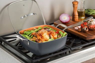 Get this ceramic non-stick pan for over 45% off