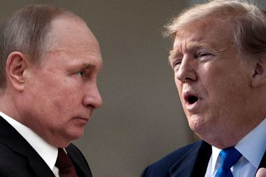 Trump isn't colluding with Russians — he's conspiring with Putin