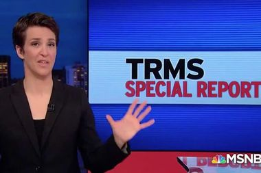 """Maddow argues the """"shaky policy"""" that presidents cannot be indicted was crafted with dubious origins"""
